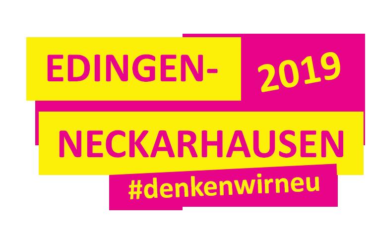 FDP Edingen-Neckarhausen. Schriftzug: Denken wir neu!