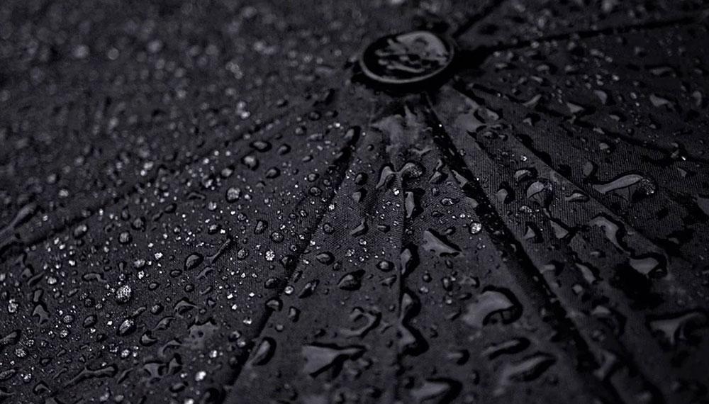 Trauer Regenschirm